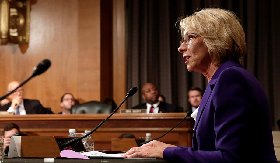 DeVos-nomination
